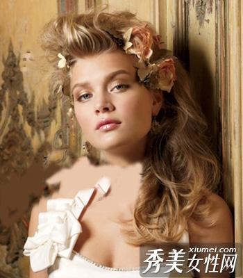 法式新娘发型 让你做最美新娘图片