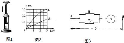 (1)如图1所示,在空气压缩引火仪的玻璃筒底部放一小团图片