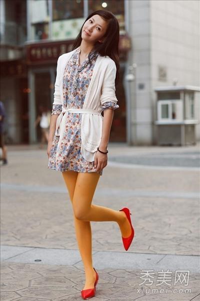 街拍美女�z(�y��9n�_北京街拍美女 十月街头各种混搭范儿