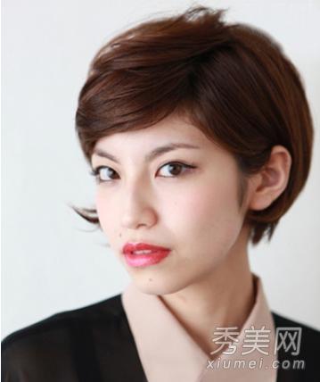 7款日系短发发型 打造小脸乖乖女图片