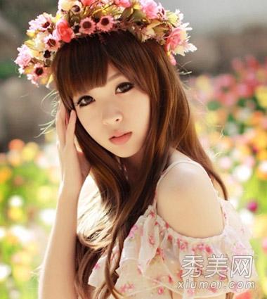 陈乔恩&陈紫函 明星示范最具女神气质长卷发发型图片