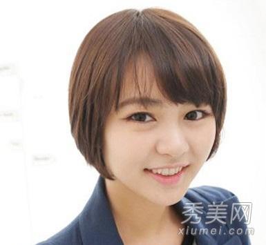com 2012瘦脸发型最新韩式中短发尽显优雅气质 小编点评:柔顺有质感的图片