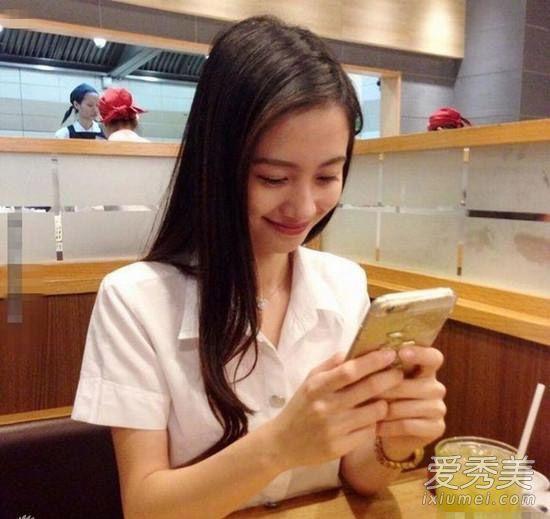 越南奶茶妹走红 长发及腰撞脸angelababy图片
