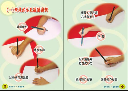 在家庭培养正确的写字姿势和坐姿 家教