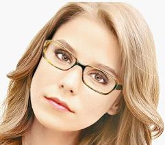 戴眼镜的女生怎样化
