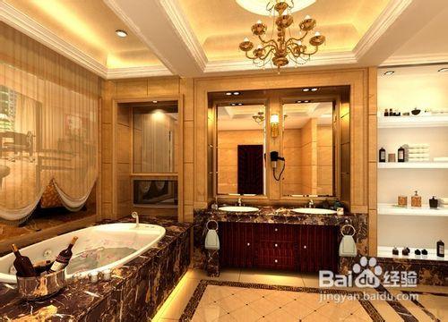 欧式卫生间装修六大风格图片