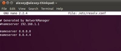 ubuntu修改DNS的步骤 - c32 - c32s blog