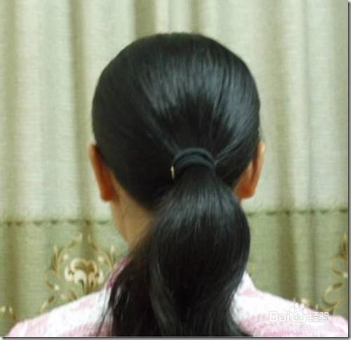 怎样用u型发簪盘发图片