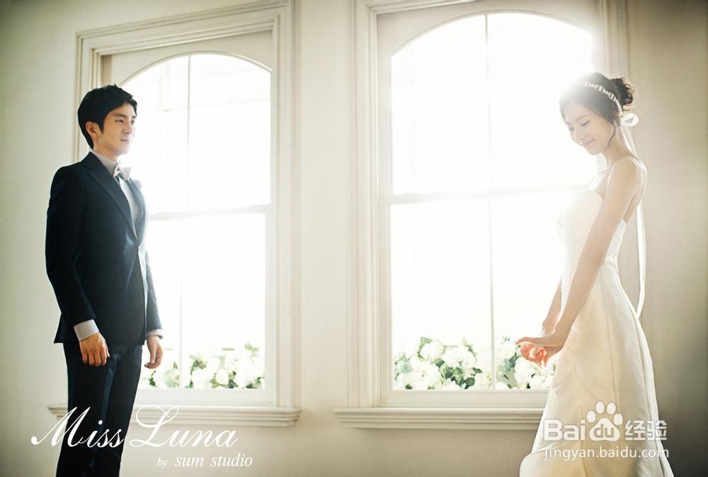 2013年韩式婚纱照新娘发型