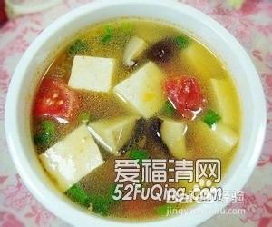 三鲜豆腐汤 的做法 怎么做好吃