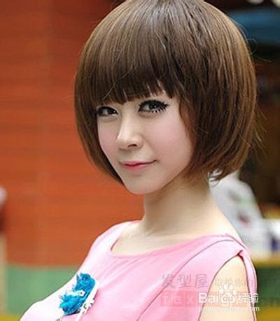 女生短发发型图片 打造清新小女人图片