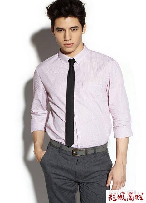 衬衫与领带的搭配技巧