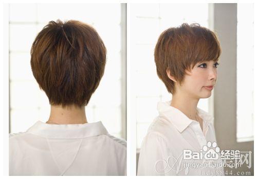 一起从女生的短发发型中找答案吧.图片