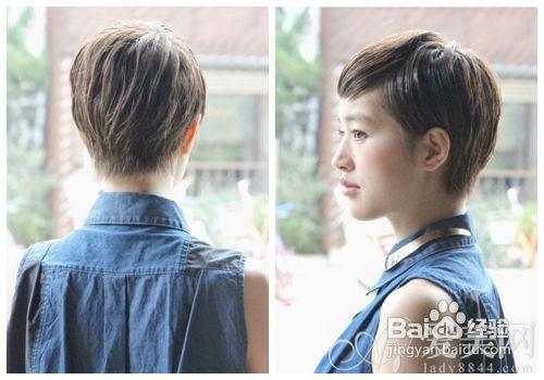 教你打造帅气指数超男生的女生短发造型图片