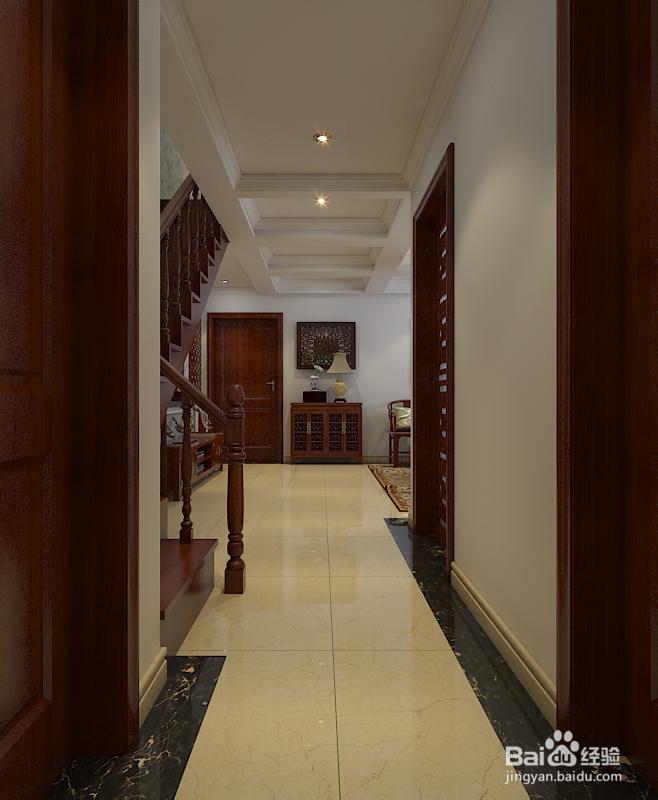 170平米楼中楼客厅家装设计图