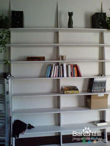 自制书架图片大全 好看纸箱自制简易书架 墙壁书架图片大全 我的书架