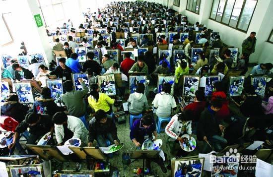美术生的就业前途分析图片