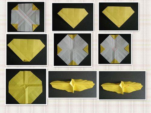 教你折纸玫瑰图片