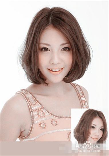 想要拥有标准大气的鹅蛋脸发型,中分是必不可少的发型元素,再选择图片