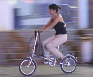 或者骑自行车运动