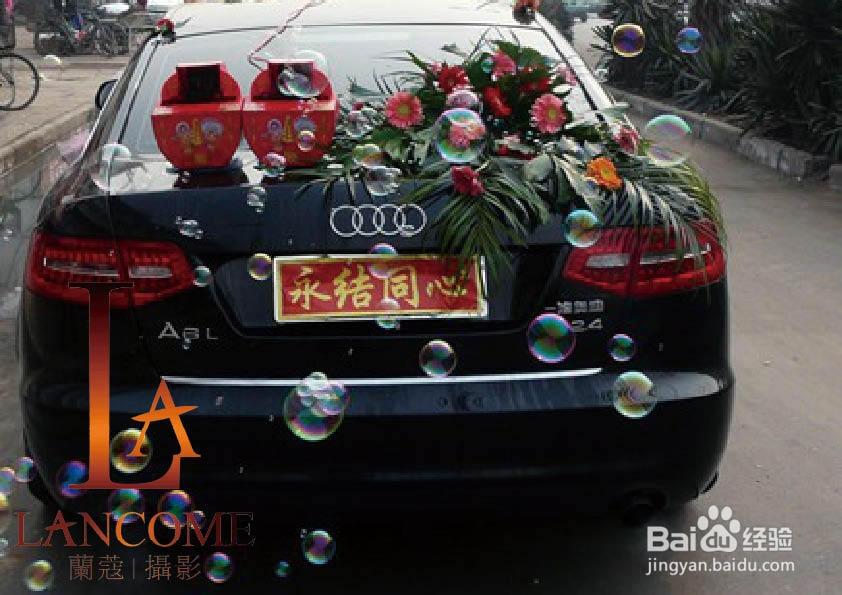 展现气势的婚车如何装饰