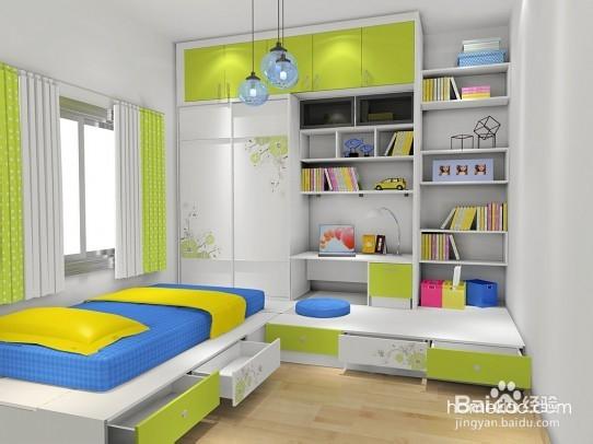 小户型儿童房装修效果图图片