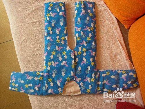 婴儿连体裤裁剪图图片大全 两种穿法的宝宝连体衣 有裁剪