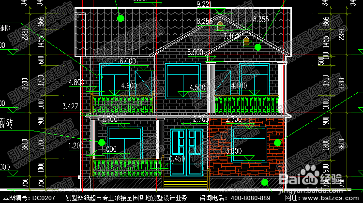 漂亮实用的二层农村小别墅效果图