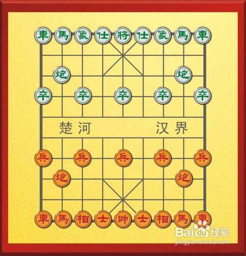 中国象棋怎么下图片