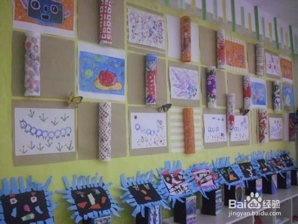 幼儿园教室布置细节展示图片