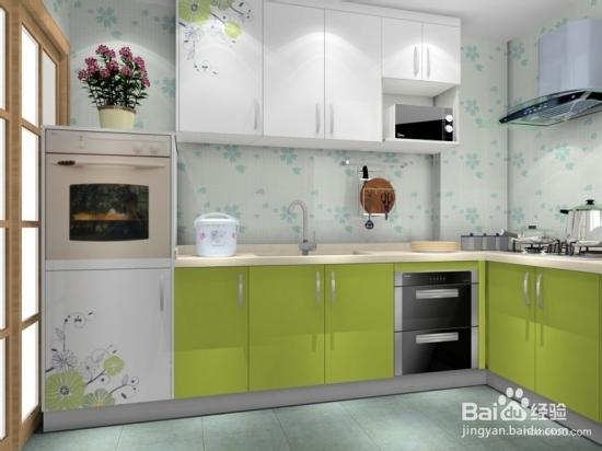 2013小户型整体厨房效果图(二)   罗马假日系列厨房经典时尚