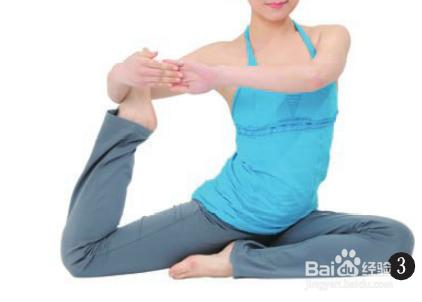 丰胸瑜伽之鸽子式瑜伽如何操作?图片