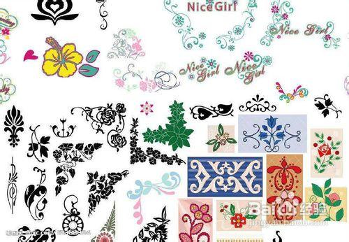 手抄报花边设计图案(多种花纹图案)