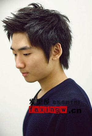 服帖柔顺的男士直发,在设计独特的韩国男士手上又能玩出那些花样呢?