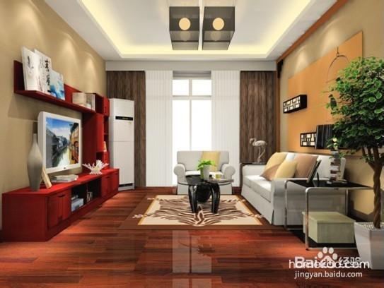 中式风格装修擅长以浓烈而深沉的色彩来装饰室内,比如墙面喜