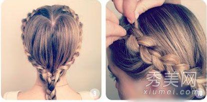 编头发花样步骤图片 编头发花样步骤教图