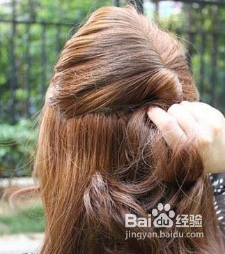 婚礼发型图片