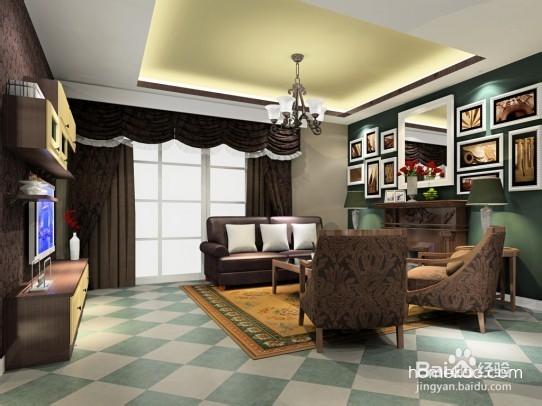 现代风格典雅奢华的客厅效果图