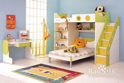 儿童的房间一定要环保美观