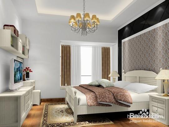 室内的卧室装修效果图体现完美视觉效果的居室卧室装饰,小户