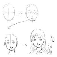 漫画人物步骤_样画动漫人物眼睛
