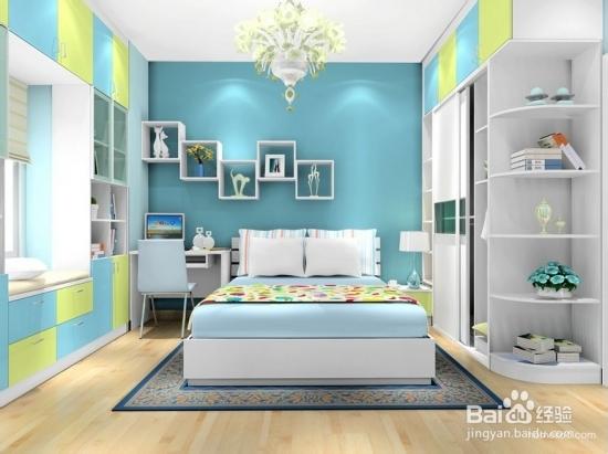 12平米婚房装修效果图 尽享空间收纳