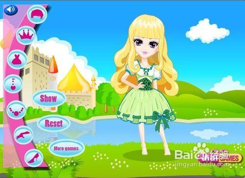 给公主化妆小游戏_阳光活力的公主小游戏怎么玩?