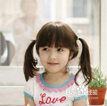 儿童各种发型扎法图解图片