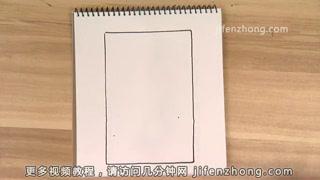 【儿童节】长方形简笔画|牛仔|军人|老绅士