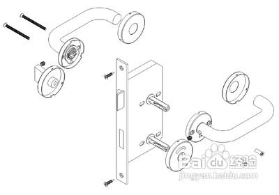 门锁怎么安装
