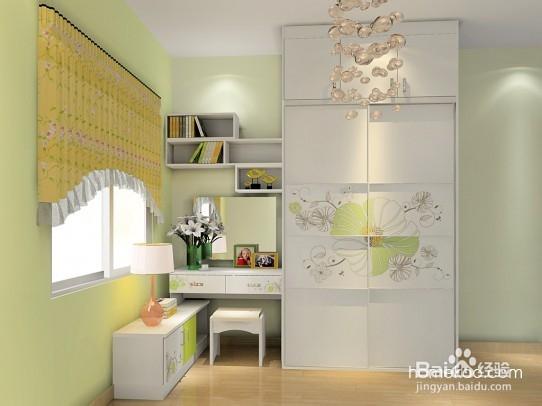 将梳妆台跟衣柜方便v衣柜,内嵌在衣柜当中,既结合我们建筑梳妆土木更衣设计院图片