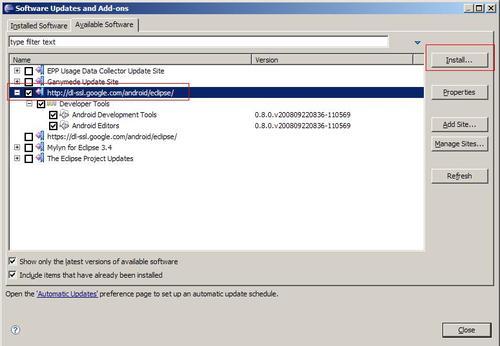 Windows上搭建安卓的JAVA开发环境(Eclipse版本)