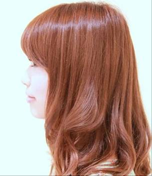 板栗红头发图片展示