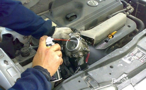 清洗汽车节气门费用是多少高清图片